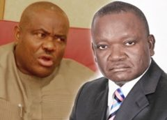 WAR OF THE PDP BIG BOYS: RIVERS GOV. NYESOM WIKE, BENUE COUNTERPART, SAMUEL ORTOM FIGHT DIRTY
